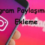 Instagram Paylaşıma Link Ekleme