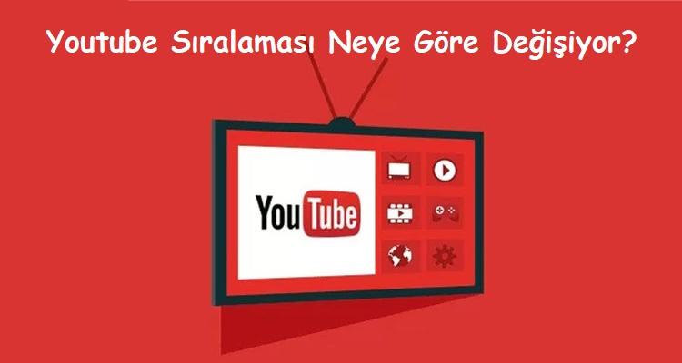 Youtube Sıralaması Neye Göre Değişiyor?