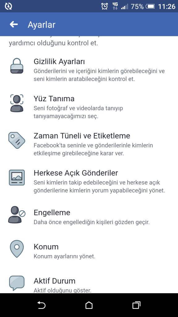 adim adim facebook paylasim engeli yapmayi ogrenme 2019 guncel