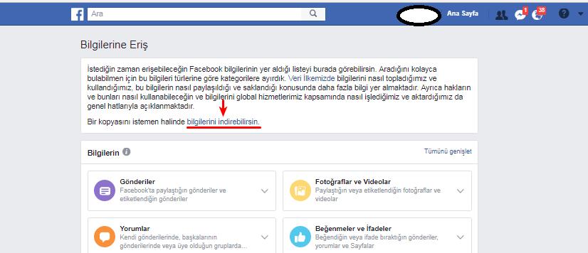 facebook silinen mesajlar geri getirilebilir mi guncel resimli anlatim