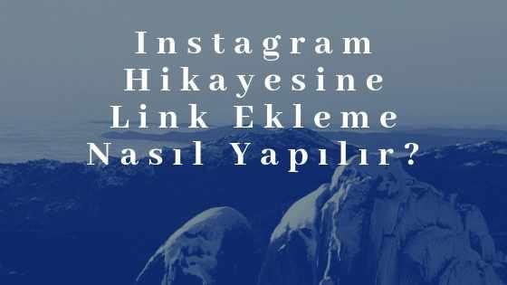 Instagram Hikayesine Link Ekleme Nasıl Yapılır?
