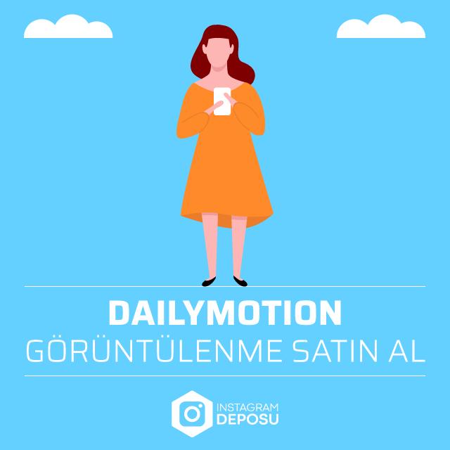 Dailymotion Görüntülenme Satın Al