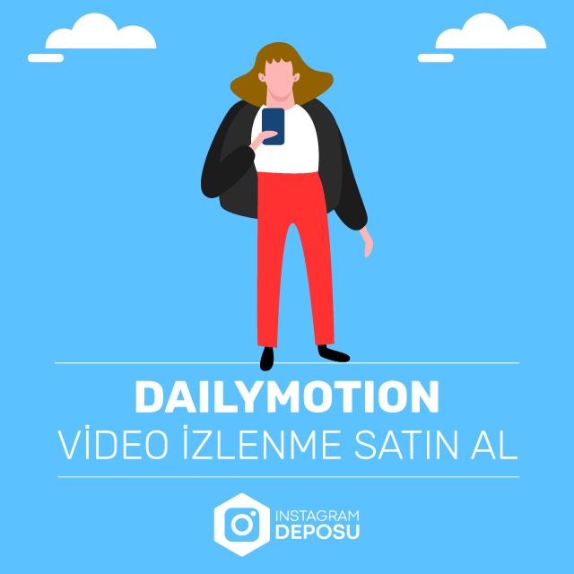 Dailymotion Video İzlenme Satın Al