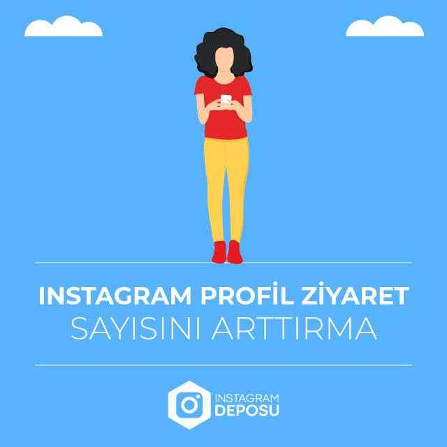 Instagram Profil Ziyaret Sayını Arttırma