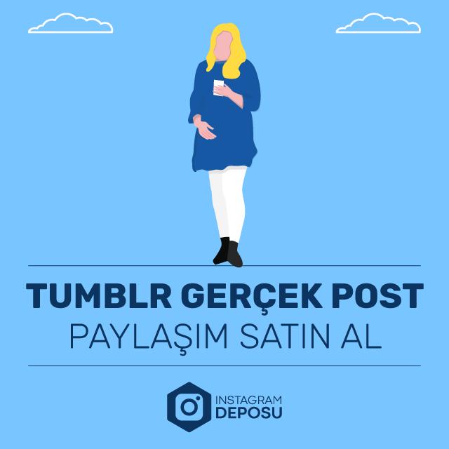 tumblr gerçek post paylaşımı satın al