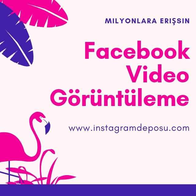 Facebook Video Görüntüleme