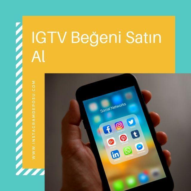 IGTV Beğeni Satın Al