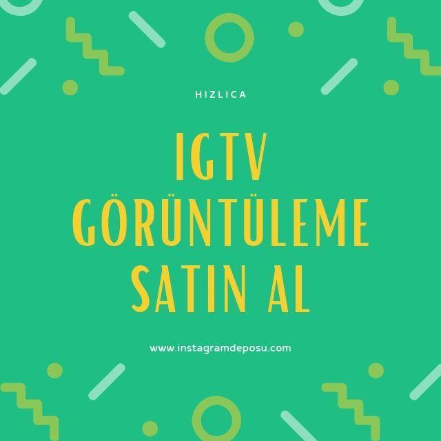 IGTV Görüntüleme Satın Al