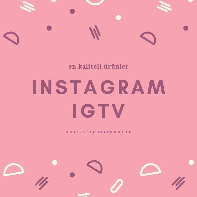 IGTV yorum