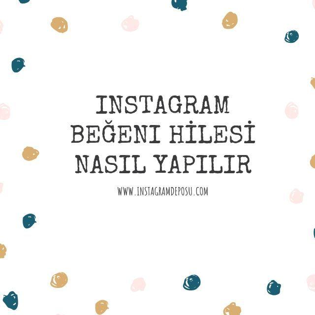 instagram beğeni hilesi nasıl yapılır