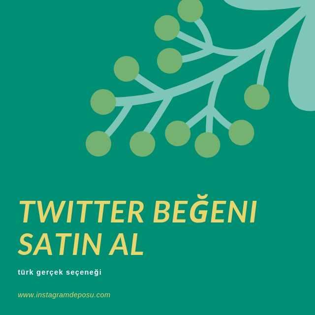 Twitter Beğeni Satın Al