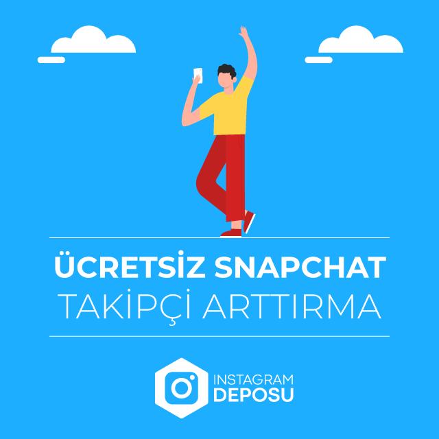 ücretsiz snapchat takipçi arttırma